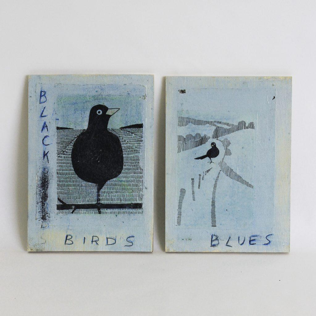 Tweeluikje Black Bird Blues